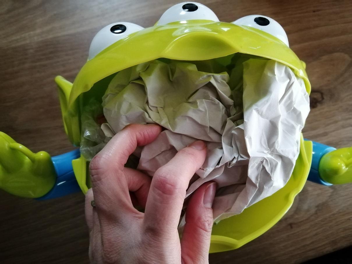 ポップコーンバケットの梱包方法5