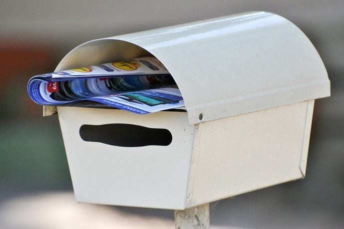 郵便物を受け取り拒否する