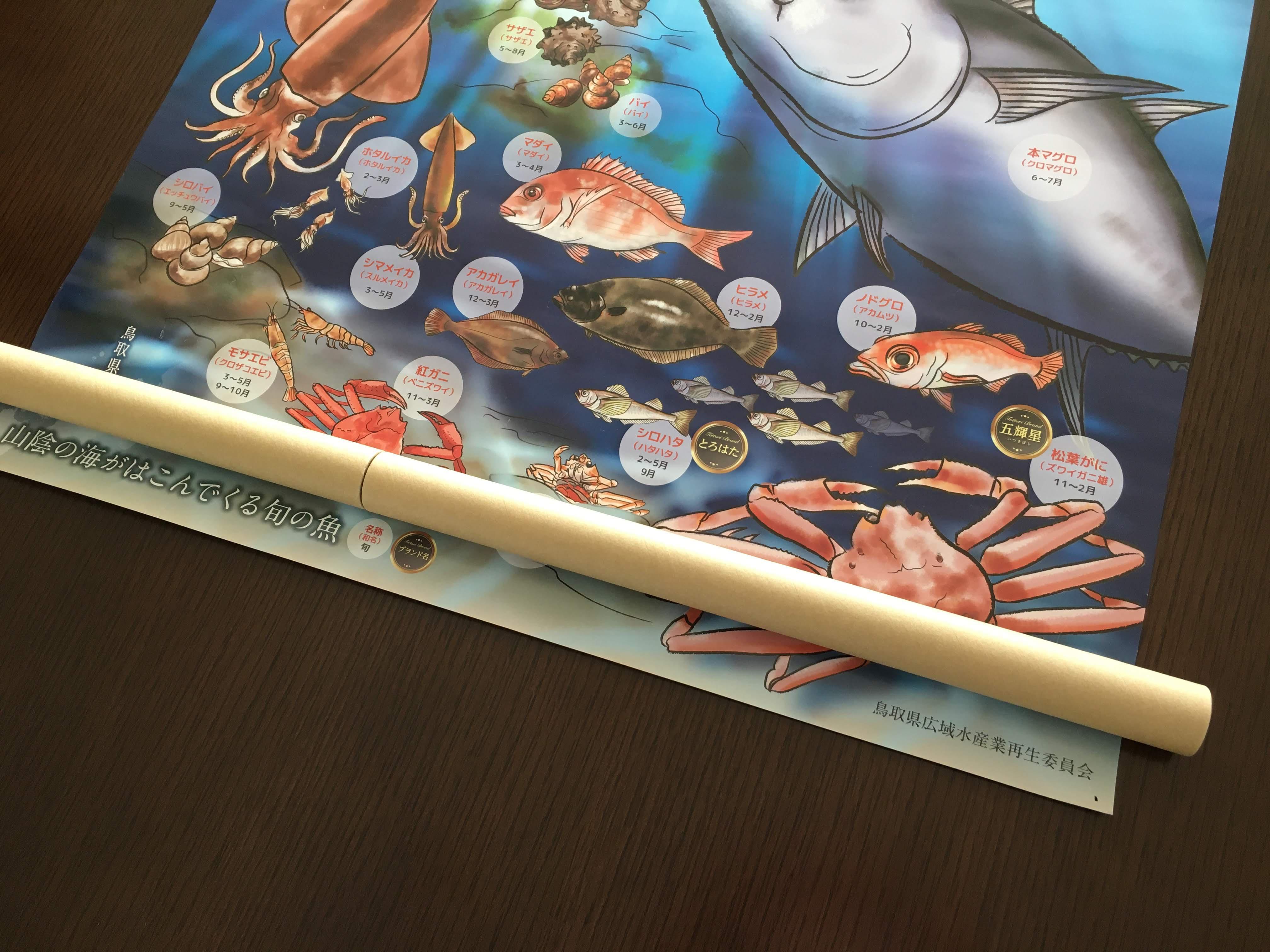 ポスターの梱包方法2