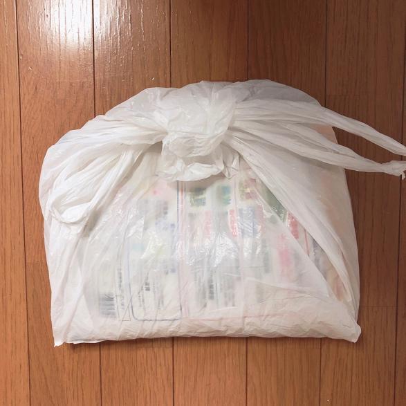 お米の梱包方法2
