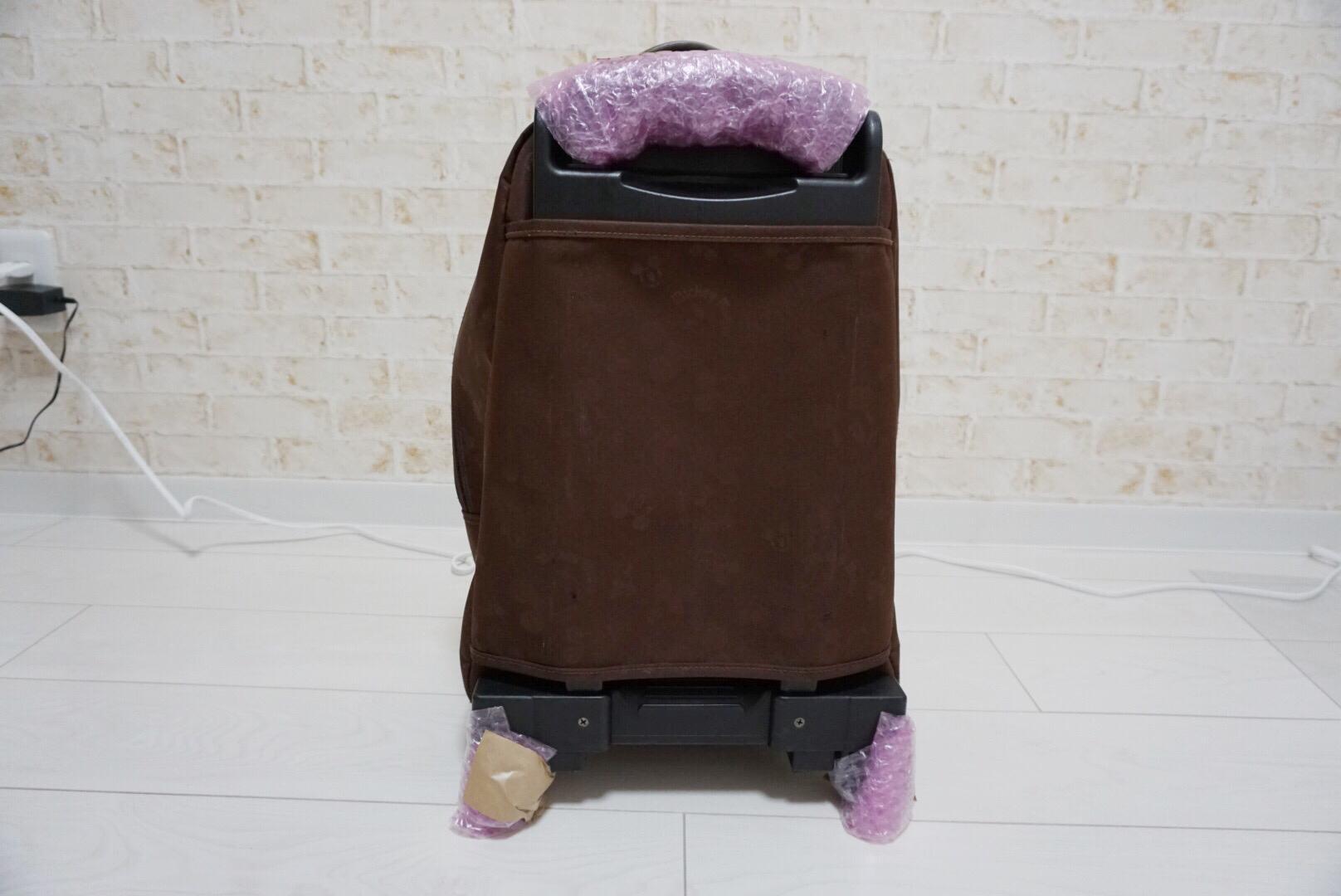 キャリーバッグの梱包方法1
