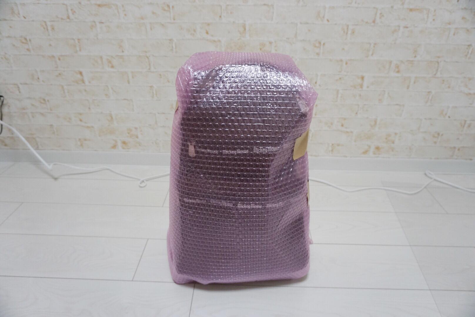 キャリーバッグの梱包方法12