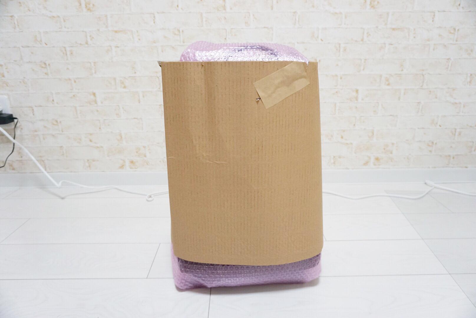 キャリーバッグの梱包方法3