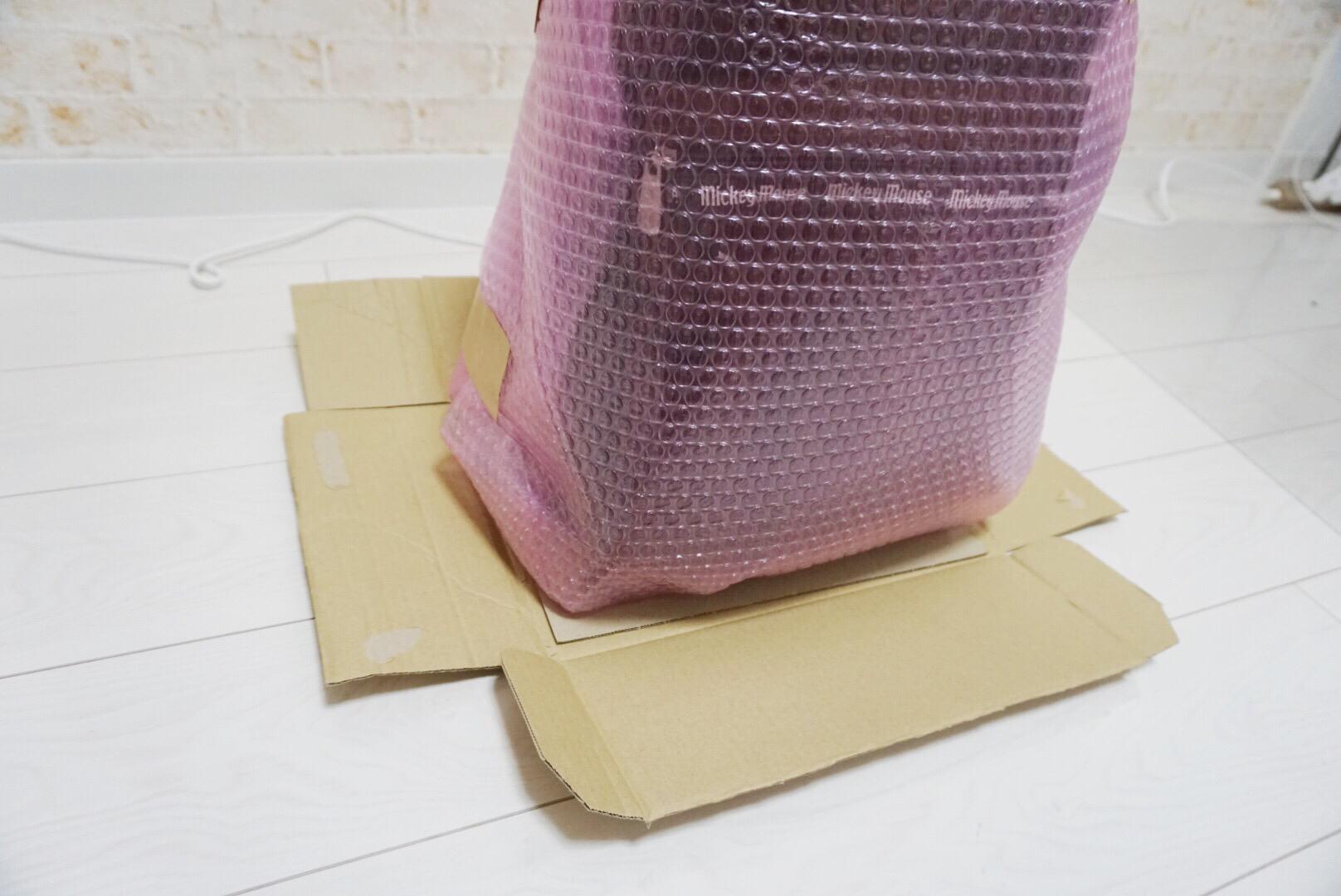 キャリーバッグの梱包方法4