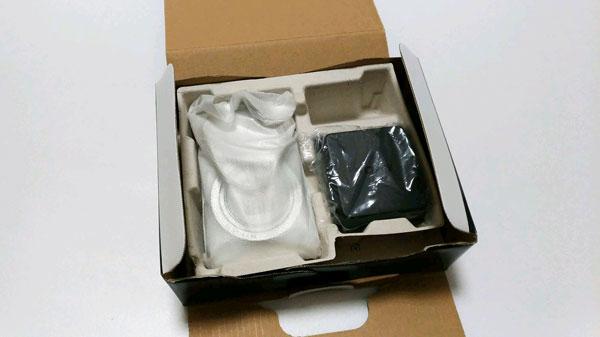 箱ありデジカメの梱包方法2
