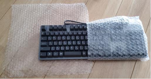 パソコンキーボードの梱包方法1