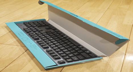 パソコンキーボードの梱包方法箱あり