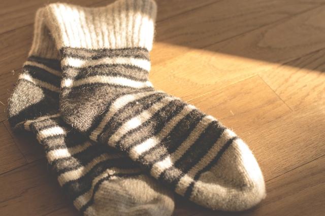 靴下の梱包方法