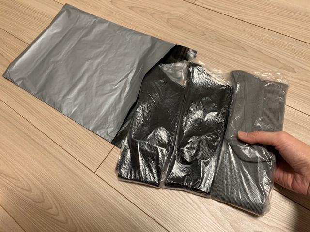 靴下の梱包方法15