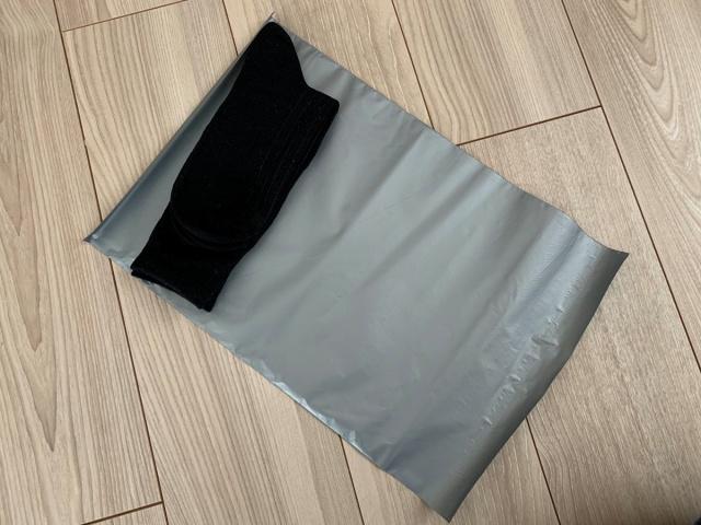 靴下の梱包方法5
