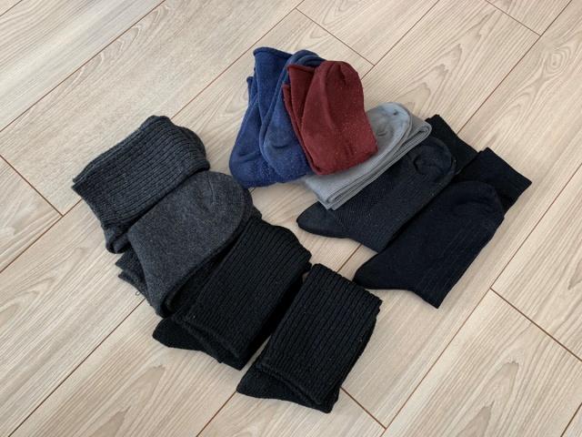靴下の梱包方法17