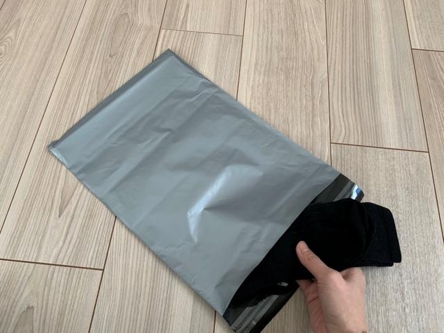 靴下の梱包方法6