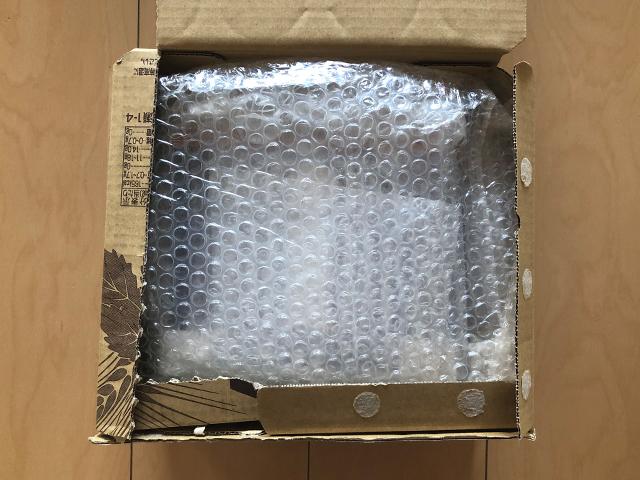 ガスボンベの梱包方法4