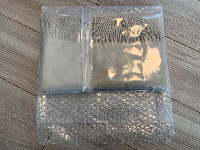 マフラーの梱包方法10
