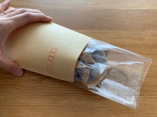 シュシュの梱包方法7