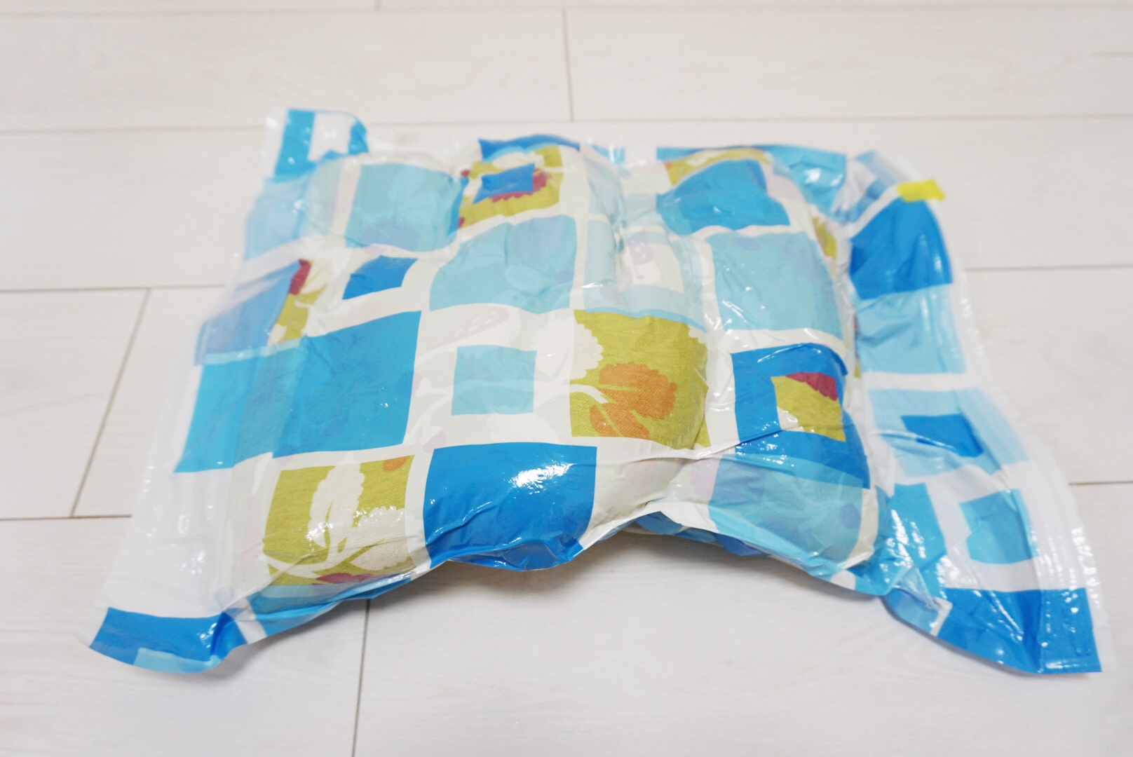 座布団の梱包方法