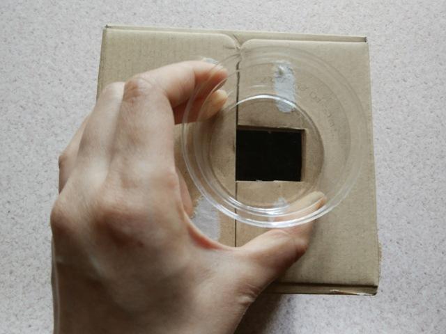 透明な容器を用意