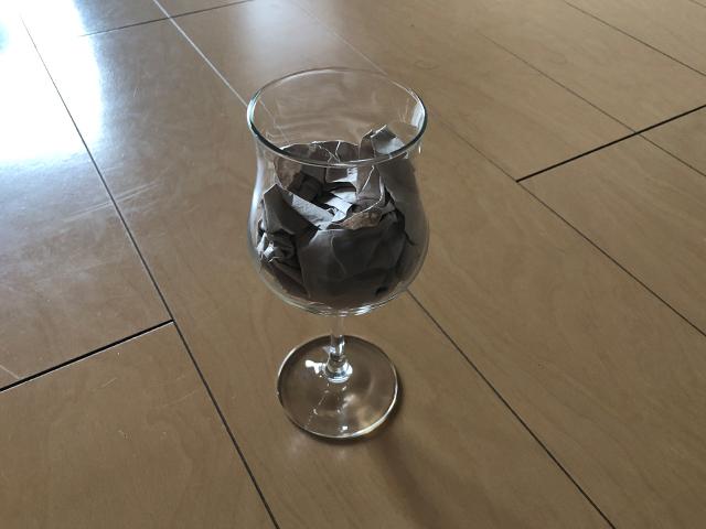 ワイングラスの梱包方法6