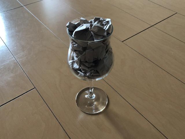 ワイングラスの梱包方法7