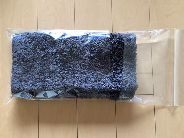バスマットの梱包方法6