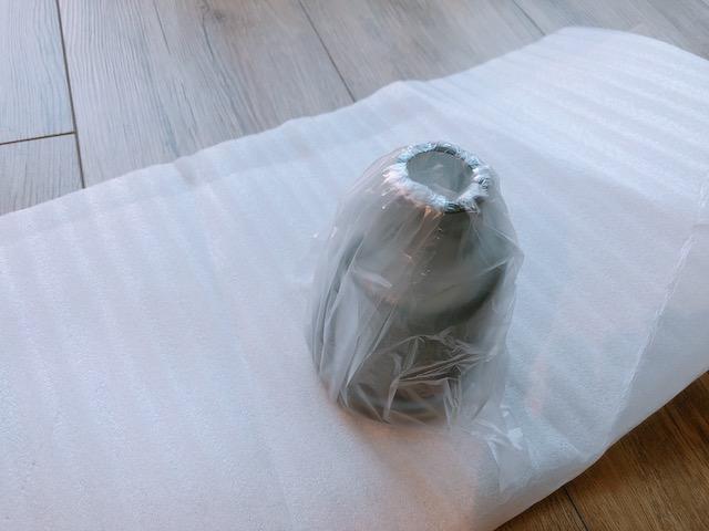 花瓶梱包2