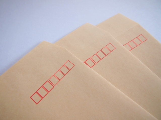 ブロマイド定形郵便