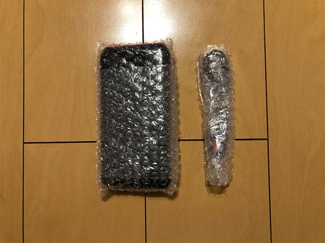 モバイルバッテリーの梱包方法2