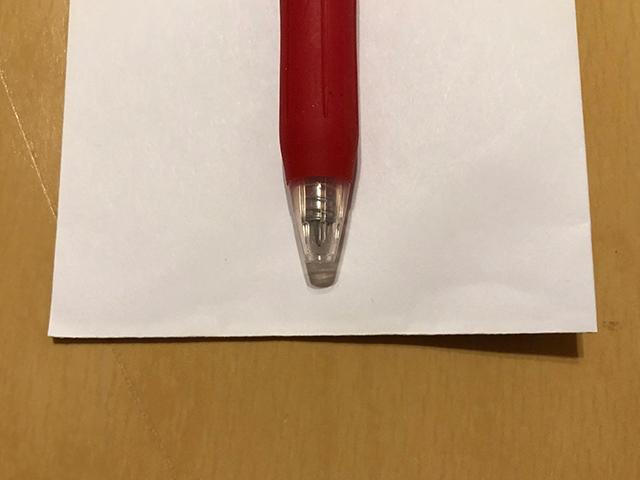ボールペンの梱包方法7