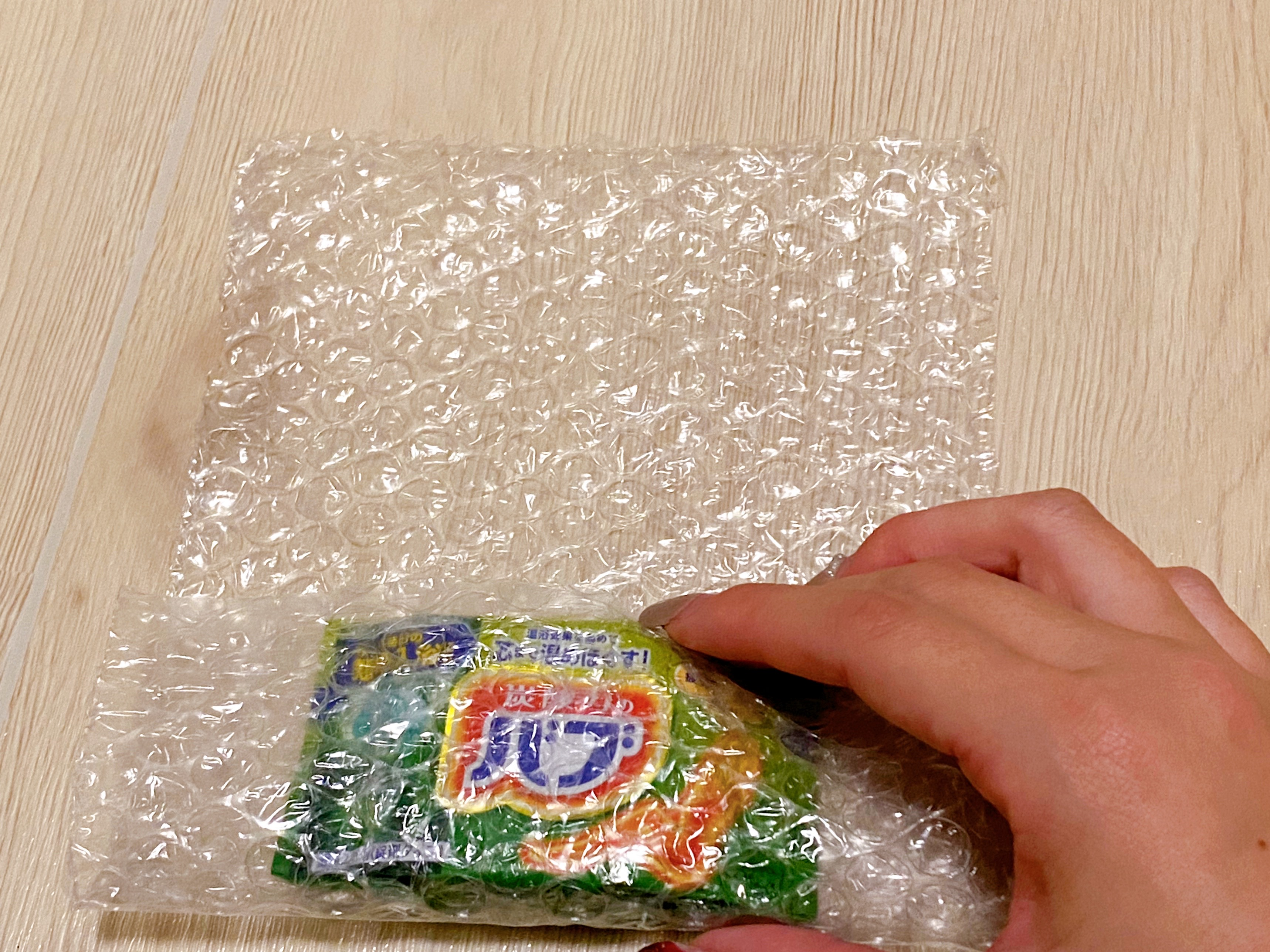 入浴剤梱包3
