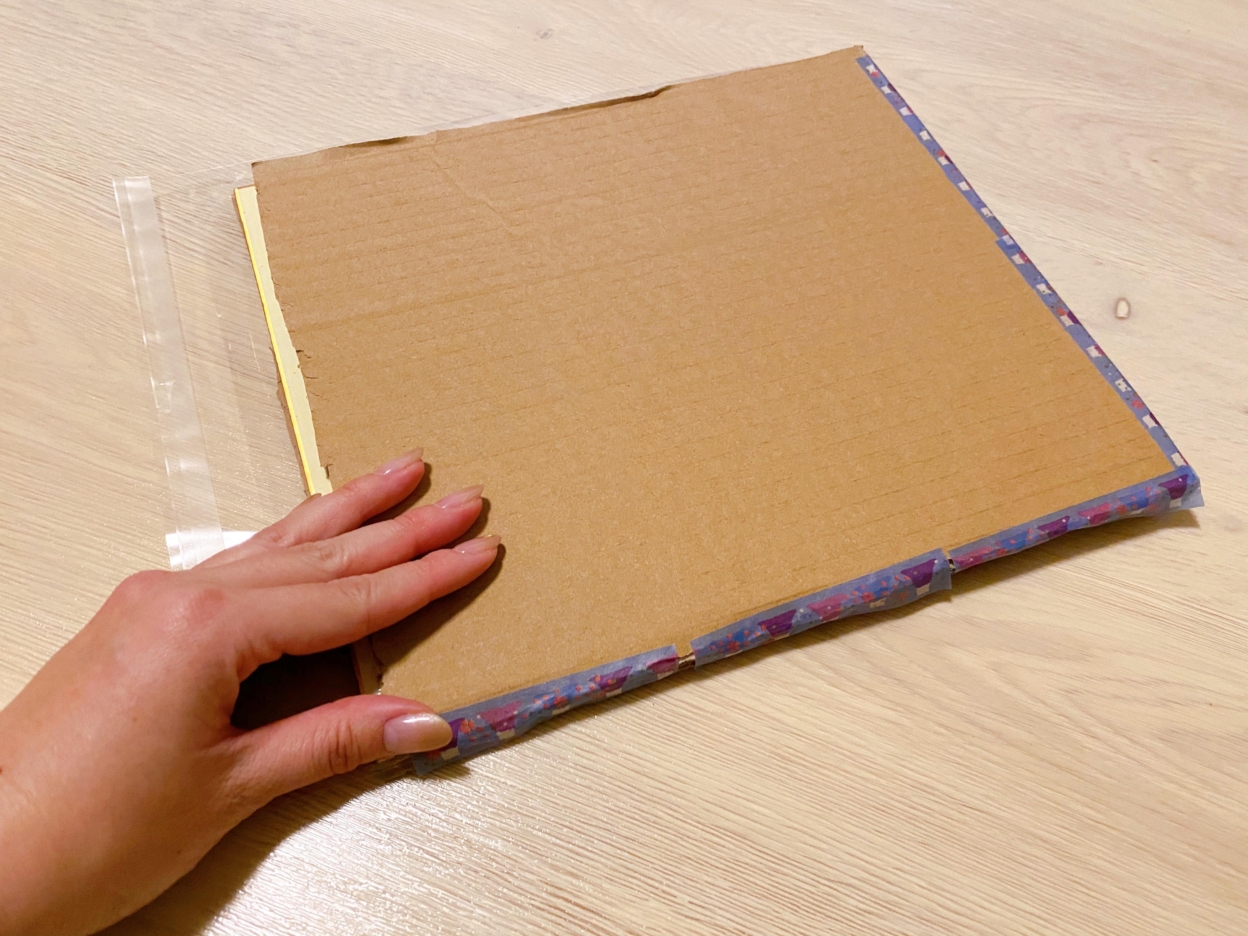 色紙の梱包10