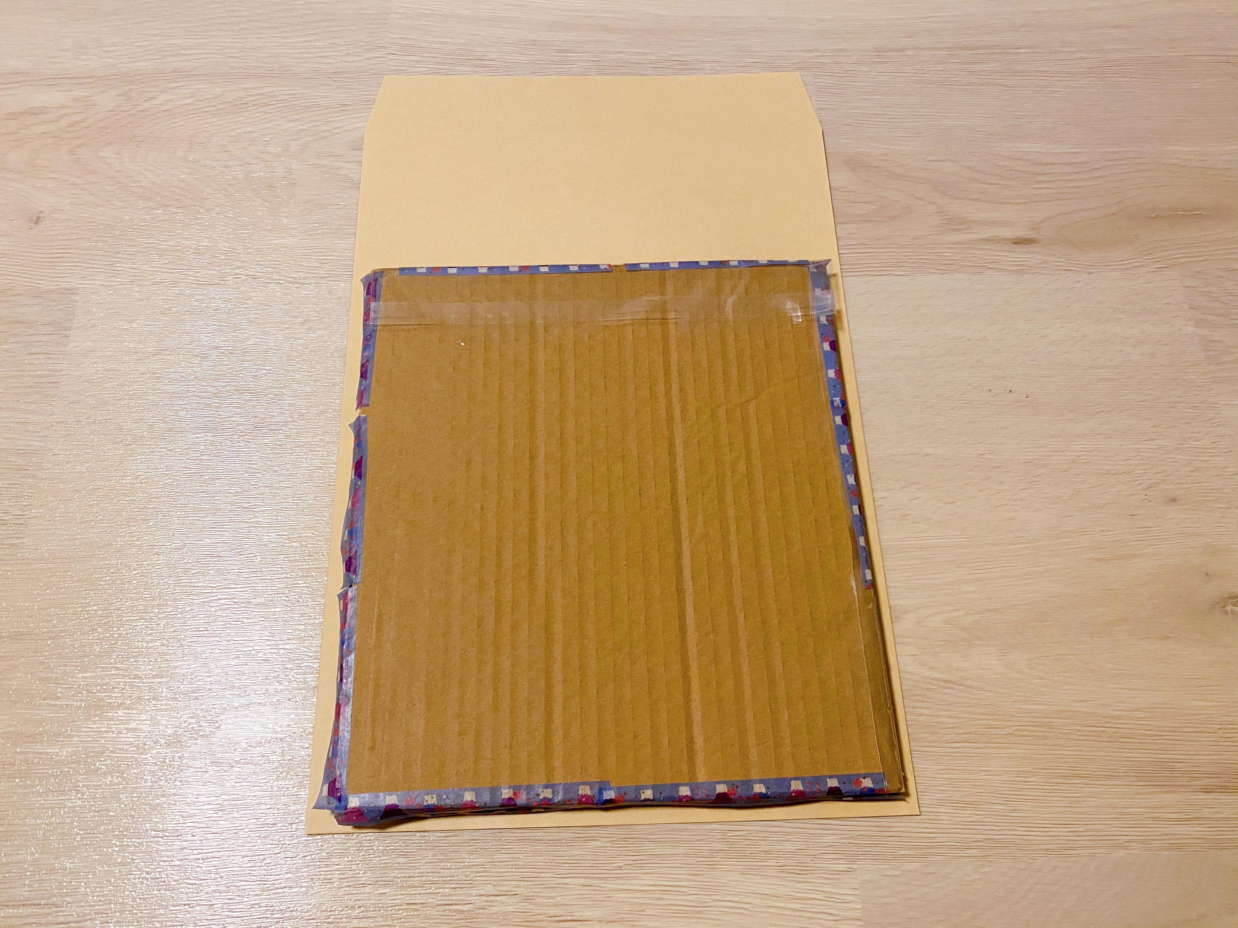 色紙の梱包17