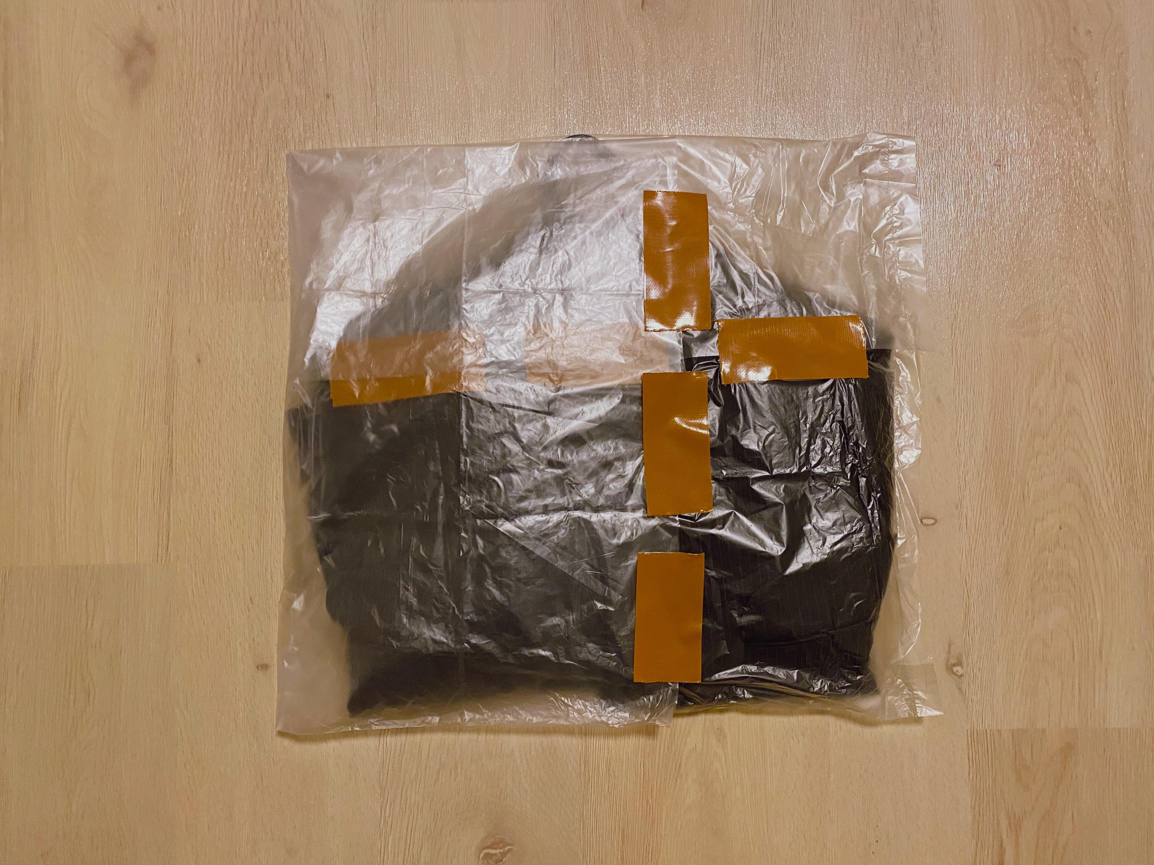 スーツの梱包20