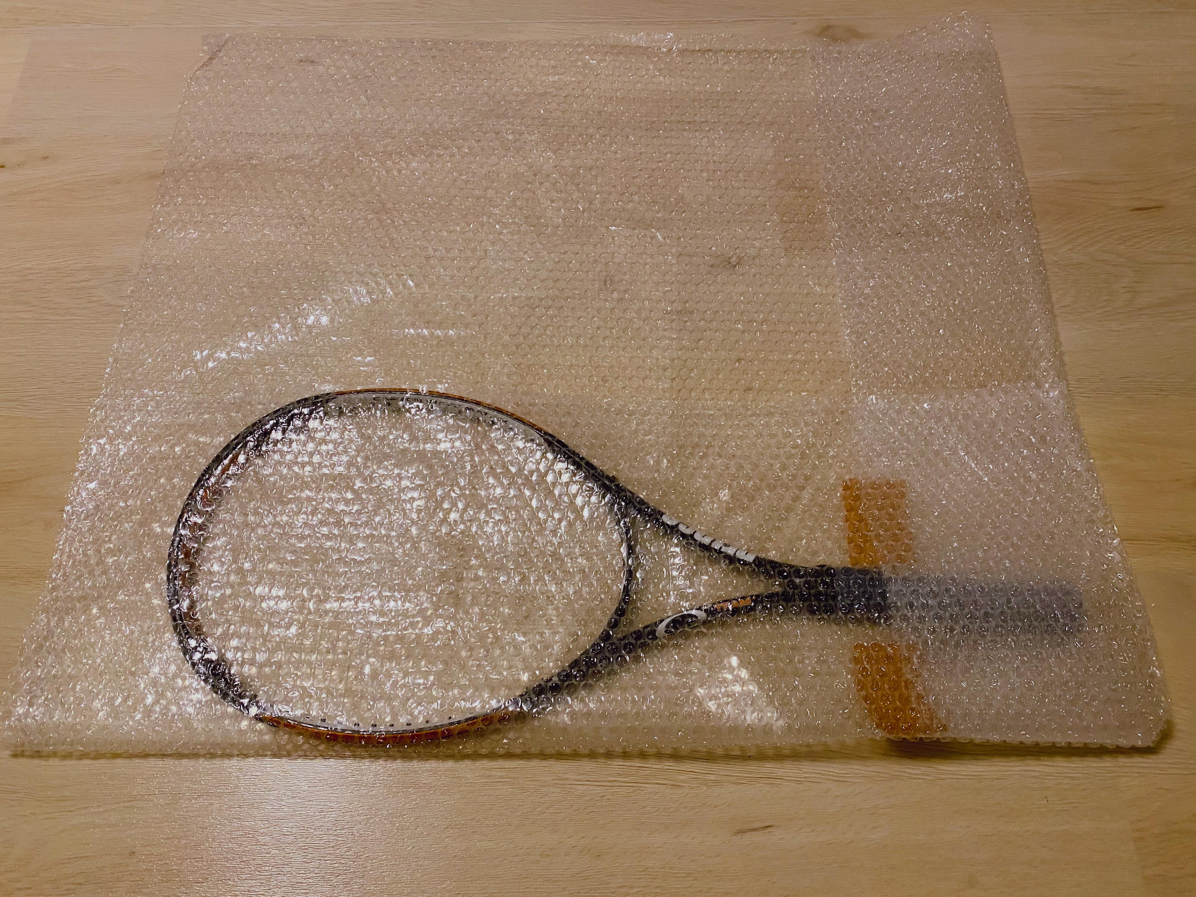 テニスラケット梱包5
