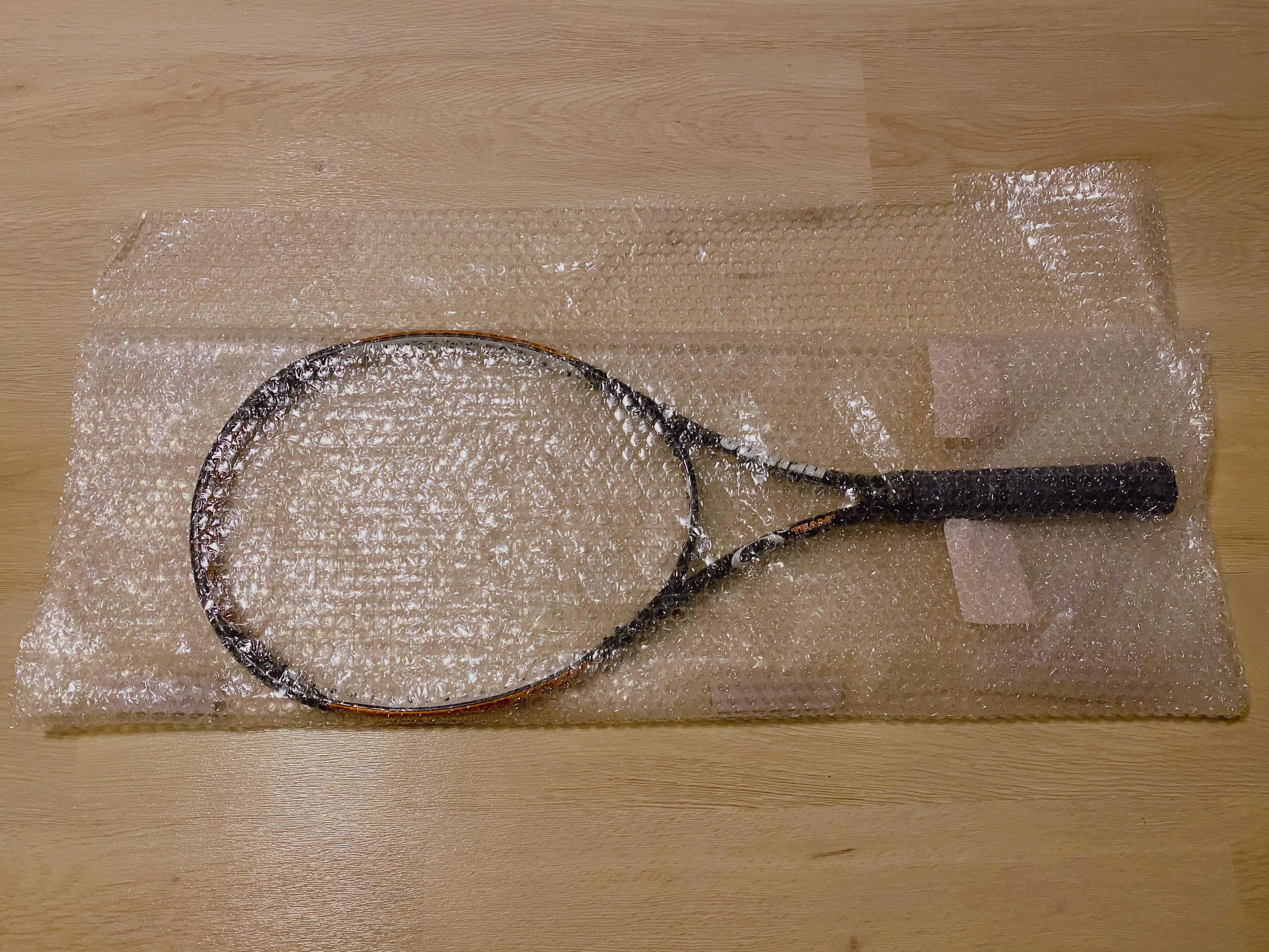 テニスラケット梱包7
