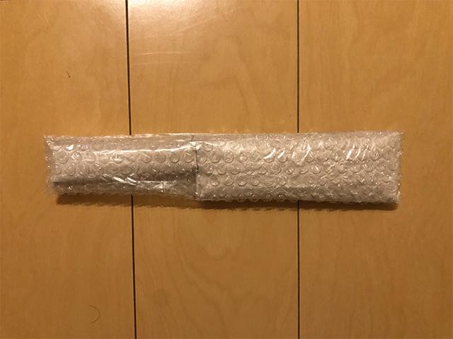 包丁の梱包方法3