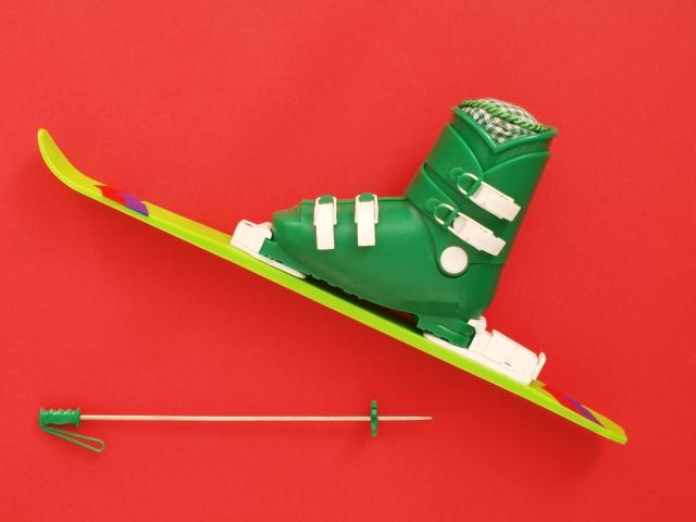 スキーブーツ梱包方法