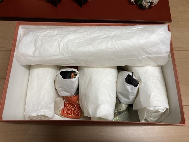 雛人形の梱包7